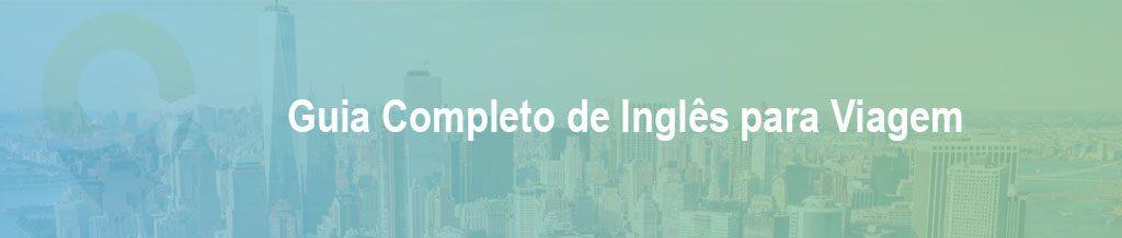 Frases Básicas em inglês para viagem